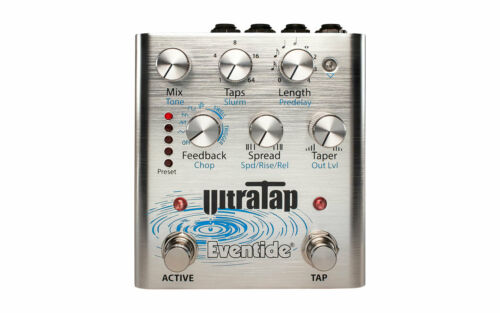 Open Box Eventide UltraTap Multi Tap Delay Guitar Effects Pedal!