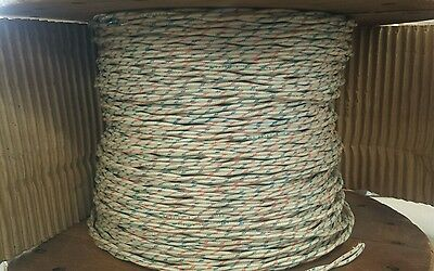25 Ft Length M27500-16b2u00 16awg Power Cable Twisted-pair 2c 600v