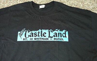 Kings Castle Land Amusement Park Whitman Ma T Shirt 2Xl Roller Coaster