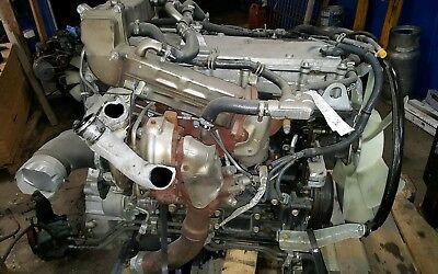 2014 Isuzu NPR 4HK1TC 4 cylinder diesel engine Free Shipping