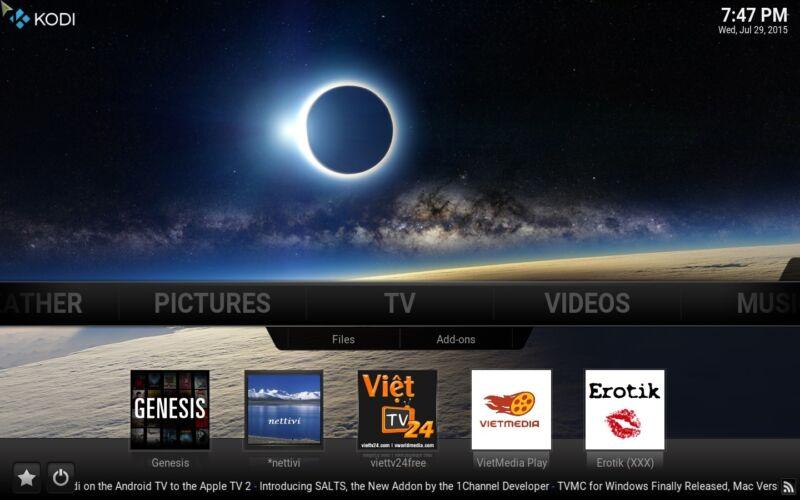 AMAZON FIRE TV STICK WITH VOICE REMOTE KODI /XBMC FULL