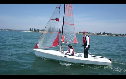 Tasar - Sailing Boat