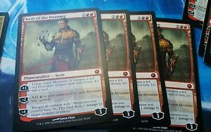 1x Koth of the Hammer Scars of Mirrodin MYTHIC Planeswalker MTG EX-NM Big Red!