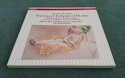 412 164-1 RIMSKY-KORSAKOV FAMOUS ORCHESTRAL WORKS ZINMAN PHILIPS 3 LP BOX SET