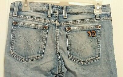 Joes Jeans Rush Low Rise Distressed Boot Cut Stretch Jeans Womens Size 25