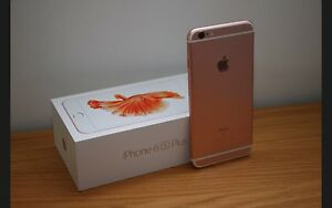 64gig iPhone 6s Plus rose gold