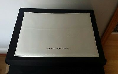 New Marc Jacobs Sunglasses Eyeglasses Display Tray. Leather Size L 16w 12