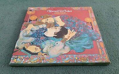 SLS 864 PROKOFIEV ROMEO & JULIET ANDRE PREVIN LSO EMI 3 LP BOX SET 1973