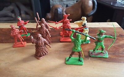 Crescent & kelloggs Robin hood toy soldiers.