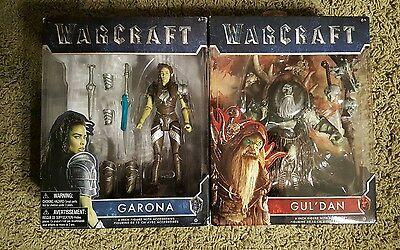 Warcraft The Movie 6  Inch Action Figure Guldan   Garona 2016 Jakks Pacific