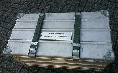 Zarges Brotkiste / Klappkiste / Klappbox /Alubox/ Bundeswehr