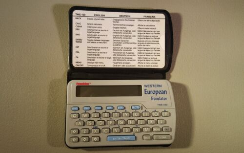 FRANKLIN TWE-100 WESTERN EUROPEAN TRANSLATOR