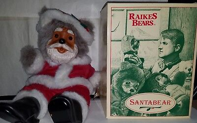 Robert Raikes Santa Bear with Box