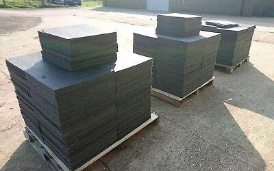 DARK GREY FLOOR CARPET TILES GRADE A 50x50cm (DELIVERY AVAILABLE)
