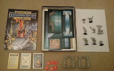 Warhammer Quest Expansion - Catacombs of Terror - complete with box