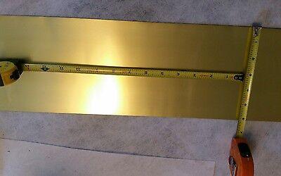 Brass Shim Stock 0.001 Thick 6 Width 3 Long