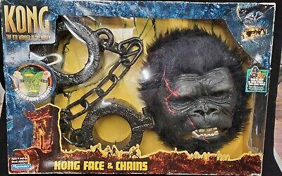KING KONG Mask and Chains Playset by Playmates - King Kong Maske