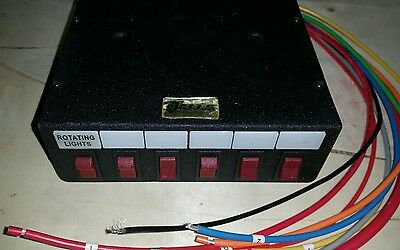 Galls Lightbar Control Switching System