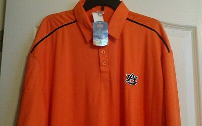 Auburn Tigers Mens  Polo  College World  Large   Nwt