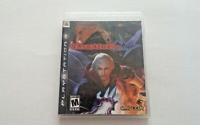 Sony Playstation 3 PS3  Devil May Cry 4 Video Game 2008 Capcom