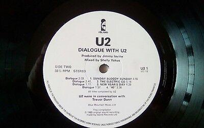 U2 - Under A Blood Red Sky - 1983 Raro LP  promo (dialogue with U2) Live , usato usato  Acilia
