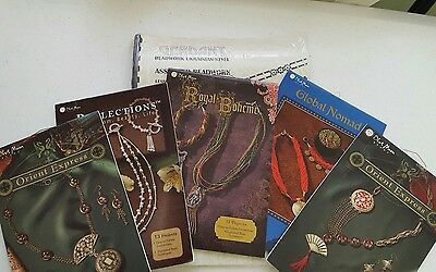 Jewelry Making Beading Book Booklets Lot