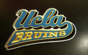 UCLA Bruins Vintage Embroidered Iron On Patch (Old Stock) 3.5