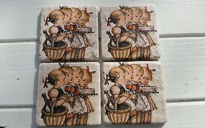 Picnic Time with Best Friends Stone Coasters