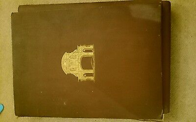 Beautiful Antique book.  Records of old london vanished and vanishing lithograph