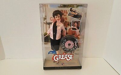 Grease Rizzo Barbie Doll ~ 30 Years with Musical Doll Stand (Pink Label) Mattel