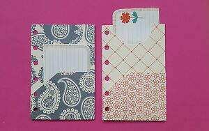 Filofax Pocket Planner Dividers-Folders x2!!!