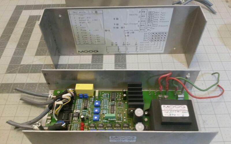 Moog D121-010-A001 Controller Servo Valve