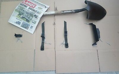 LANDROVER DEFENDER WOLF ARMY/MILITARY EXPEDITION  BONNET SPADE FITTING KIT.