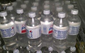 Crystal Pepsi 24 Pack 20 Oz Bottles Clear Soda Pop Expires 2017 Factory Sealed