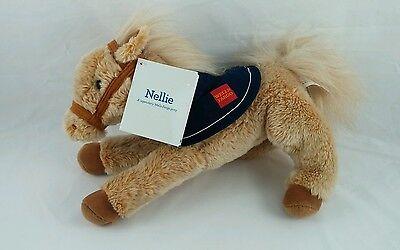 Nellie Wells Fargo Tan Plush Horse Pony Stuffed Animal Toy Brown 2015 NWT