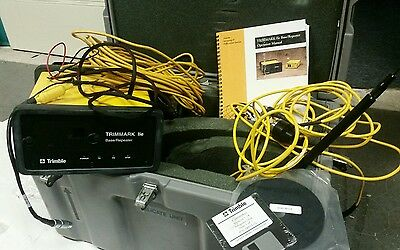 Trimble 384600-45 Trimmark Iie Base Station W Antenna Cables Case Misc Cords