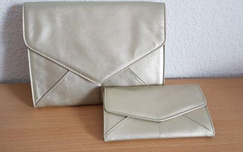 Mexx Taschen-Set Handtasche/Klatsch mit passendem Portemonnaie/Geldbörse