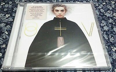 St Vincent DELUXE 2CD NEW SEALED 2015