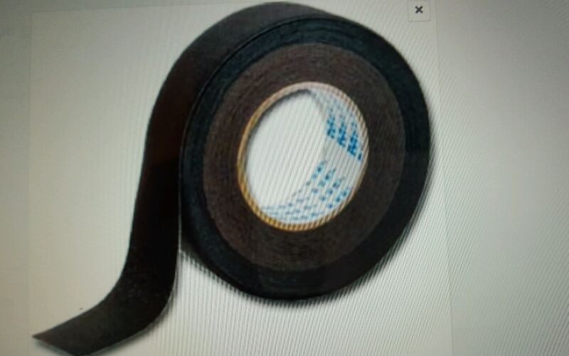 Melco Black Iron-On Waterproof Seam Seal Tape