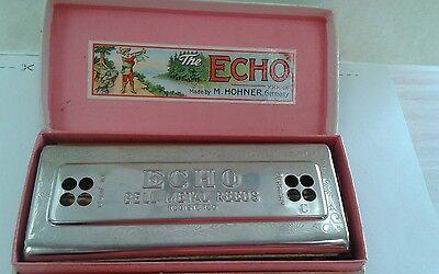 M.Hohner Vintage Echo Harp Harmonica. for sale  Miami