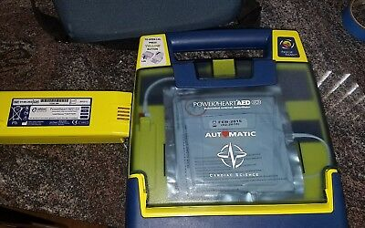 Cardiac Science Powerheart G3 Aed Automatic W Battery Pads Case