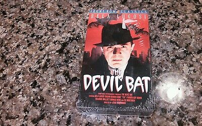 The Devil Bat New Sealed VHS! Psycho II Night Of The Living Dead Halloween - Halloween Horror Nights Psycho