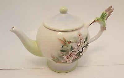 Lena Liu Teapot Teleflora Gifts Hummingbird And Lilies
