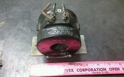 Instrument Transformers Inc. Cat No. 61 Rbt-151 Ratio 1505a
