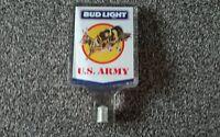 1 X Budweiser Light U S Army Bar Font Pump Handle - budweiser - ebay.co.uk