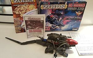 ZOIDS Hel Degunner by tomy with box and instructions some repaired damage