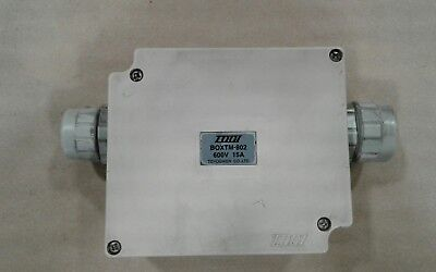 Togi Boxtm-802 Terminal Block Junction Box 15a 600v 050c7