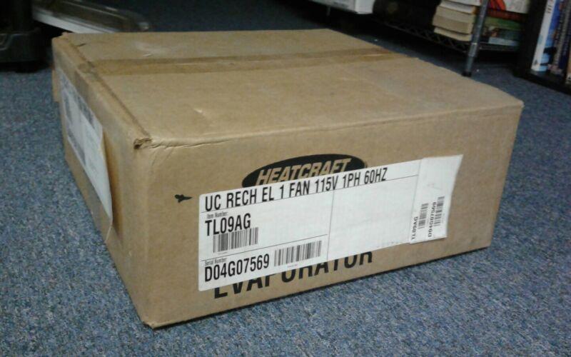 Heatcraft Reach-In Evaporator TL09AG UC RECH EL 1 FAN 115V 1PH 60HZ
