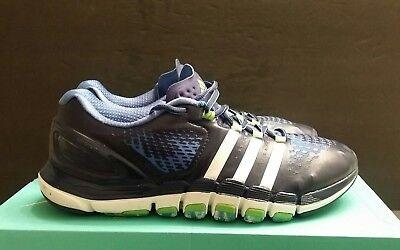 Adidas Men's  Cross Training Shoes Blue/White/Green  SZ 10.5