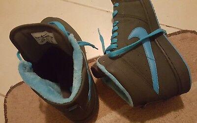 16c878f9e89786 Herren Damen Nike Winterschuhe Gr. 40.5 blau 26cm selten Winterschuhe  gebraucht kaufen Dessau-Roßlau